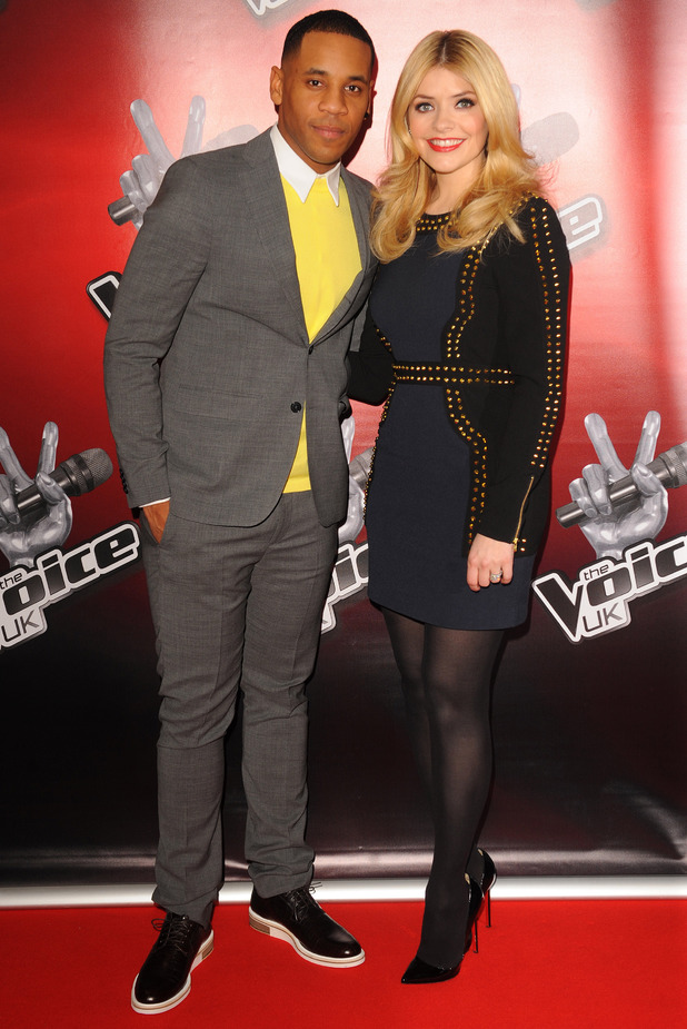 Reggie Yates and Holly Willoughby