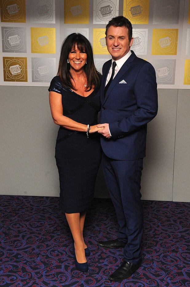 Linda Lusardi, Shane Richie, TRIC Awards 2013