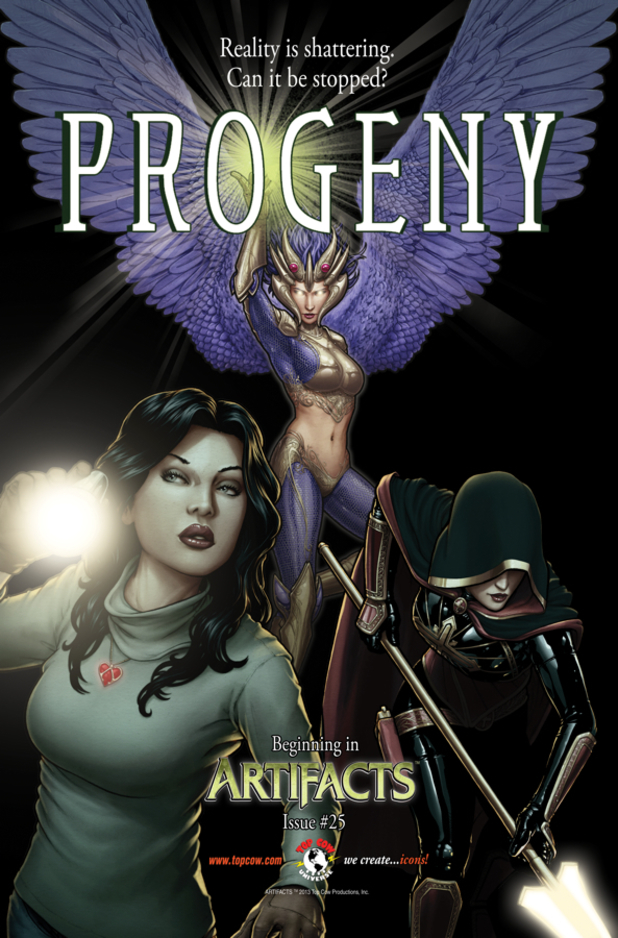 Top Cow Productions' 'Progeny' crossover artwork
