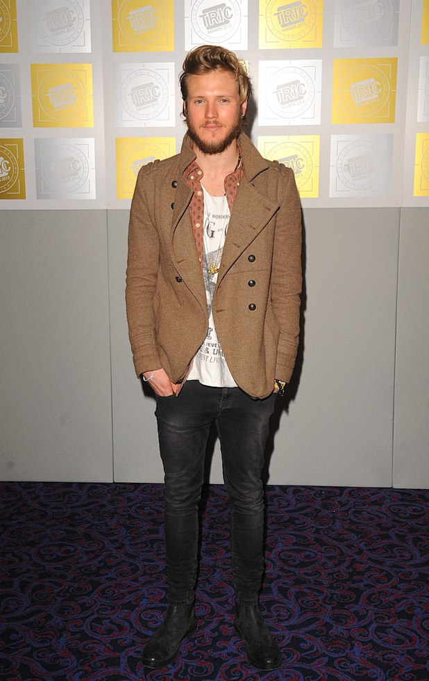 Dougie Poynter, TRIC Awards 2013