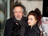 Helena Bonham Carter, Tim Burton,  The Book of Mormon Red Nose Day Gala, the Prince of Wales Theatre, London