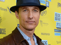 Matthew McConaughey is quizzed on whether he would play Christian Grey.