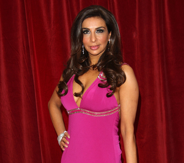 Shobna Gulati The British Soap Awards 2012 held at the London TV Centre - Arrivals London, England - 28.04.12 Mandatory Credit: Lia Toby/WENN.com