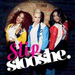 Stooshe 'Slip' single artwork.