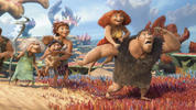 Watch the new trailer for animated movie 'The Croods'.