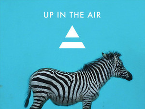 30 Seconds To Mars 'Up In The Air' single artwork.