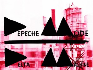 Depeche Mode 'Delta Machine' album artwork.