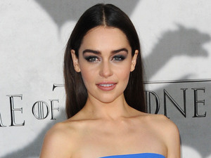 Emilia Clarke, game of thrones, season 3 premiere, HBO, LA