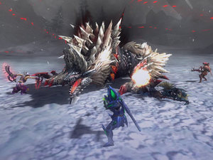 Monster Hunter 3 Ultimate (3DS) screenshot