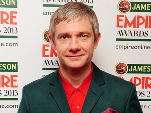 Martin Freeman with the award for Best Actor.