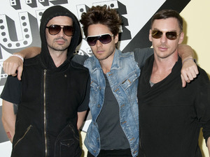 30 Seconds to Mars attend the screening of the music video for their song &#39;Hurricane&#39; at the Museum of Sex New York City in May 2011