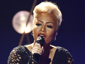 Emeli Sand performing live in Germany