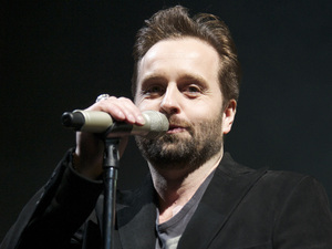 Alfie Boe performs live at The National Indoor Arena (NIA) Birmingham.