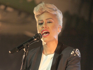 Emeli Sande performs at Paradiso in Amsterdam.