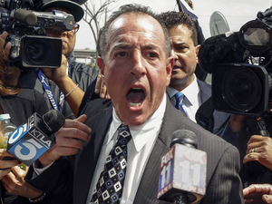 Michael Lohan speaks to reporters after his daughter Lindsay Lohan's court appearance - March 18, 2013
