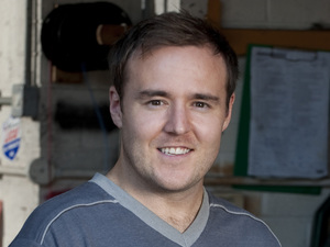 Alan Halsall as Tyrone Dobbs in Coronation Street
