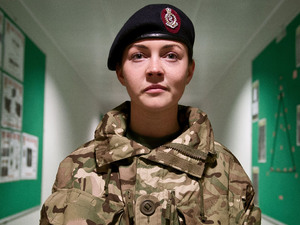 Lacey Turner in Our Girl.
