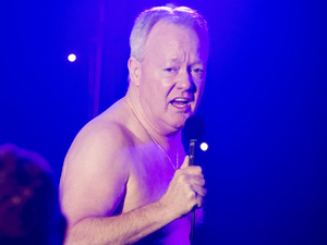 Keith Chegwin in 'Life's Too Short'
