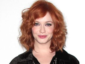Christina Hendricks at the premiere of 'Mad Men' season six in Los Angeles