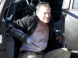 Merle Dixon (Michael Rooker) in The Walking Dead S03E14: &#39;Prey&#39;