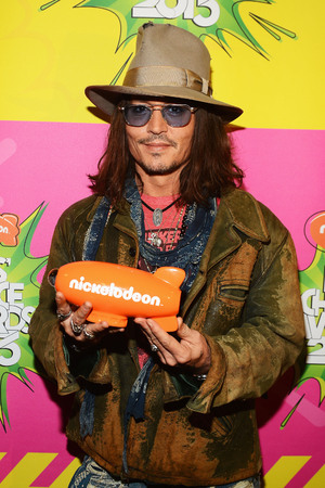 Johnny Depp at Nickelodeon Kids' Choice Awards 2013