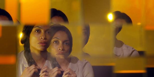 Rosario Dawson as Elizabeth in Danny Boyle's Trance