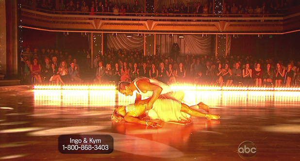 Dancing With The Stars S16E01: Ingo Rademacher & Kym Johnson