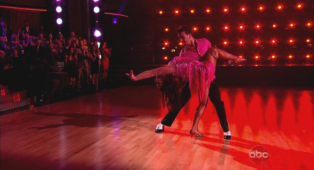 Dancing With The Stars S16E01: Aly Raisman & Mark Ballas