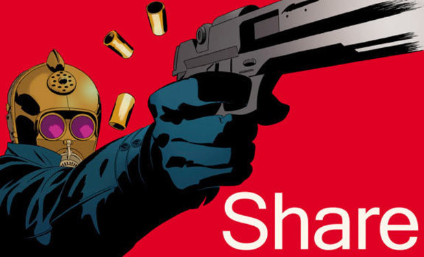 Brian K Vaughan and Marcos Martin tease a new project with this 'share' promo