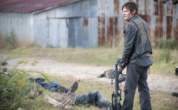 Daryl Dixon (Norman Reedus) in The Walking Dead S03E14: 'Prey'