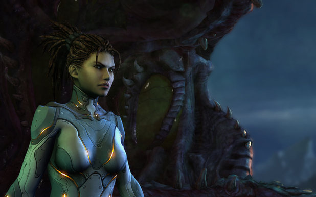 StarCraft 2: Heart of the Swarm screenshot