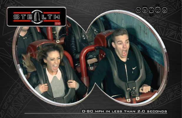 Liam Payne and Danielle Peaze