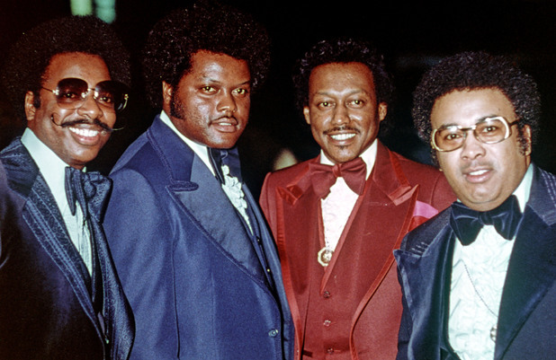 The Spinners at the American Music Awards in 1978