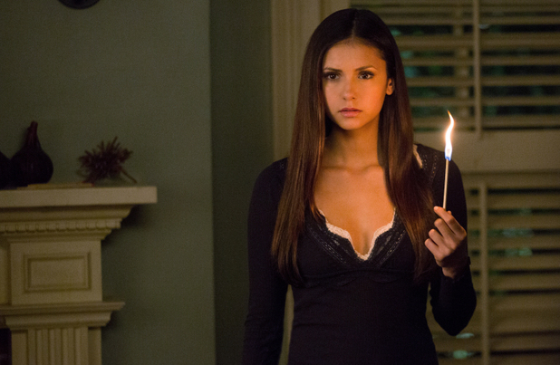 Nina Dobrev as Elena Gilbert in The Vampire Diaries S04E15: 'Stand By Me'