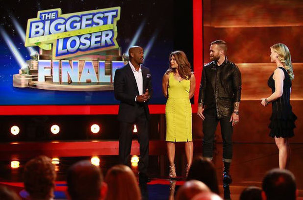 The Biggest Loser - Live Finale (S14E12) Dolvett Quince, Jillian Michaels, Bob Harper, Alison Sweeney
