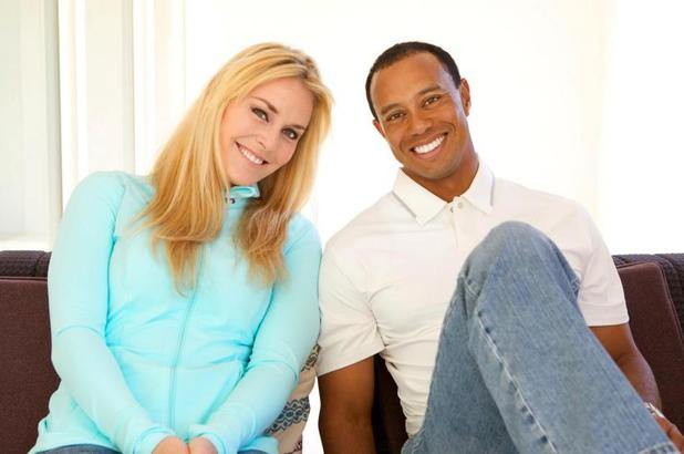 Tiger Woods, Lindsey Vonn, Facebook