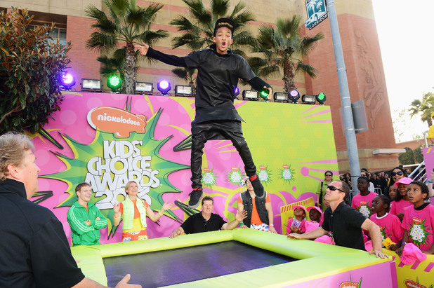 Jaden Smith at Nickelodeon Kids' Choice Awards 2013