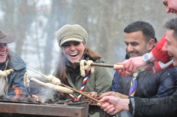 Duchess of Cambridge, Kate Middleton, Scout association, Cumbria