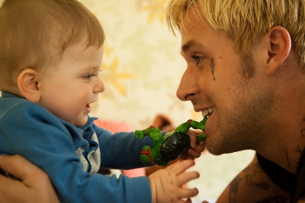 Ryan Gosling The Place Beyond the Pines Teenage Mutant Ninja Turtles Baby