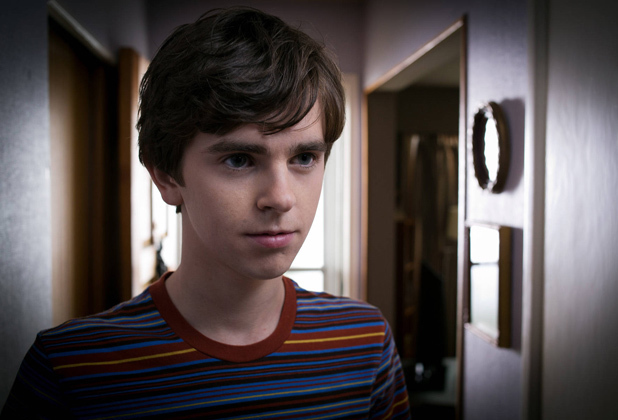 Freddie Highmore as Norman Bates in A&E&#39;s &#39;Bates Motel&#39;