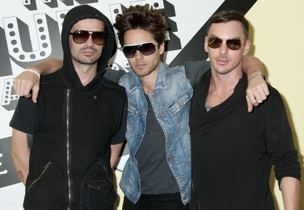 30 Seconds to Mars attend the screening of the music video for their song 'Hurricane' at the Museum of Sex New York City in May 2011