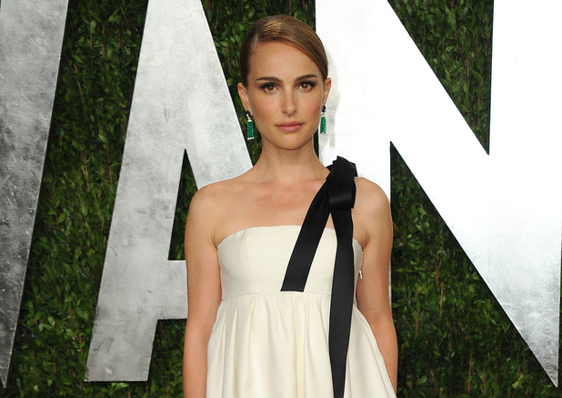 Natalie Portman at the Vanity Fair Oscars 2013 afterparty