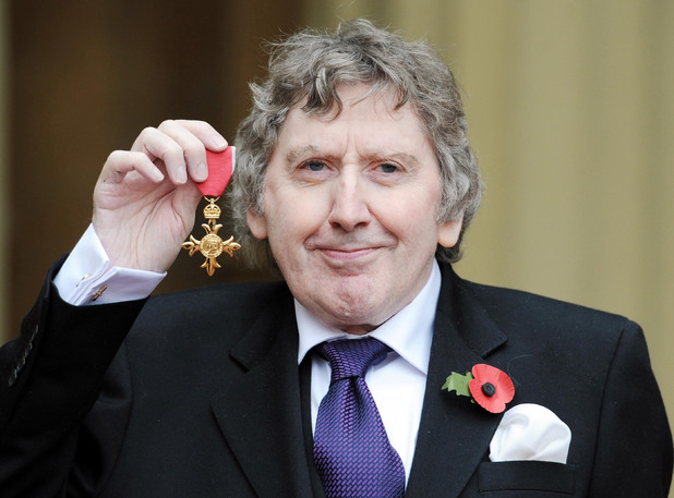 Late horror author James Herbert is awarded the MBE