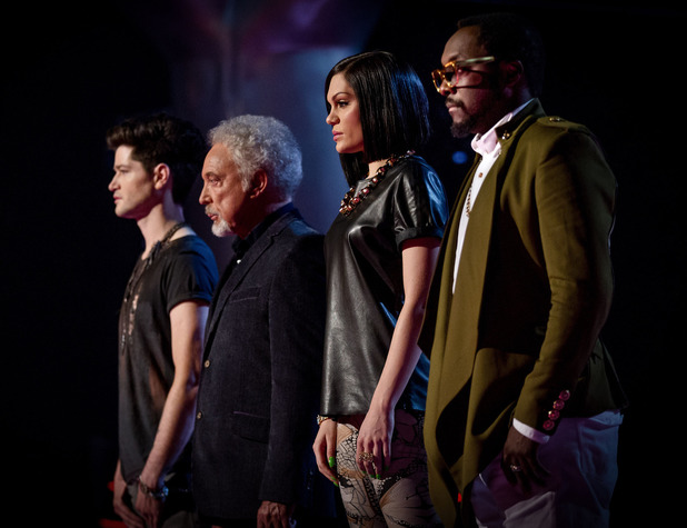 Danny O'Donoghue, Tom Jones, Jessie J and Will.i.am return for the second series of The Voice