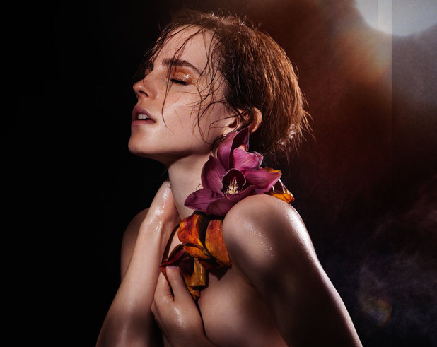 Emma Watson in a photoshoot for James Houston's 'Natural Beauty' photography book and exhibition series