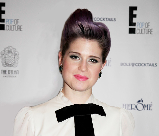 Kelly Osbourne attends a photocall to promote her show E's Fashion Police.