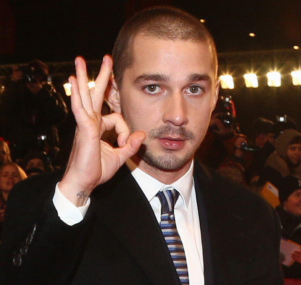 BERLIN, GERMANY - FEBRUARY 09: Shia LaBeouf arrives for the 'The Neccessary Death of Charlie Countryman' Premiere during the 63rd Berlinale International Film Festival at Berlinale Palast on February 9, 2013 in Berlin, Germany. (Photo by Andreas Rentz/Getty Images for BMW)