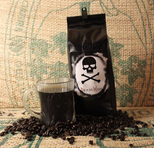 'Death Wish' coffee has 200% more caffeine than regular blend