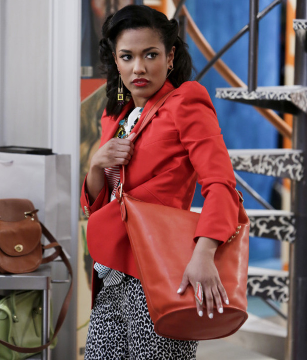The Carrie Diaries, S01E10 - The Long and Winding Road Not Taken: Freema Agyeman as Larissa