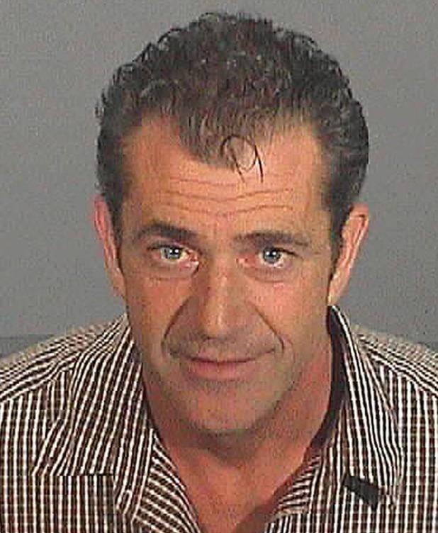 Mel Gibson, mugshot, DUI